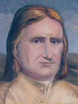 Portrait of George Fox - Quaker Founder