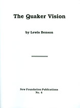 Cover image of The Quaker Vision